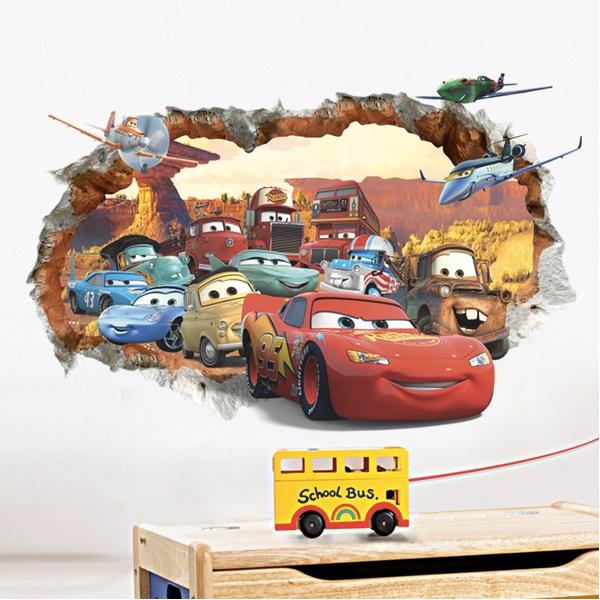 Nálepky na zeď Cars II