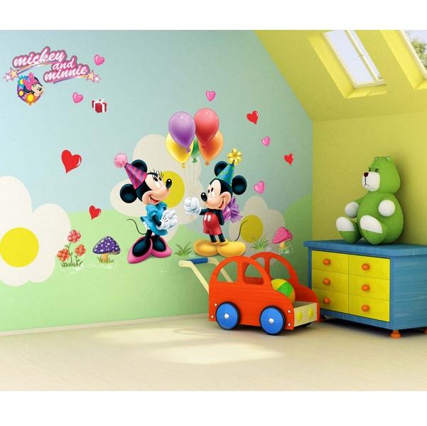 Nálepky na stěnu Mickey Mouse na párty