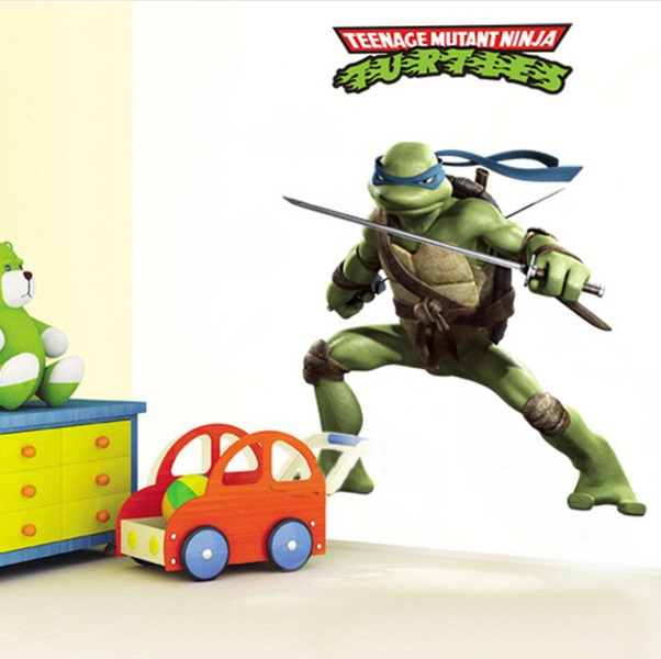 Nálepky na zeď Ninja želvy