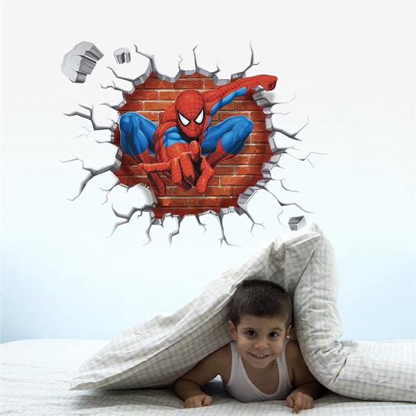 Nálepky na zeď Spiderman