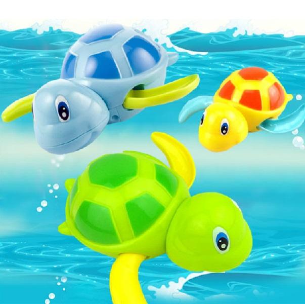 Natahovací želva do vany - modrá