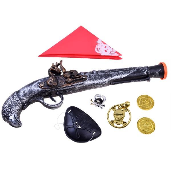 Pirátská pistole s doplňky - 1