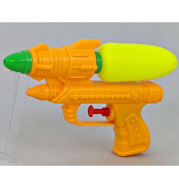 Levně Pistole na vodu 25 cm - žltá