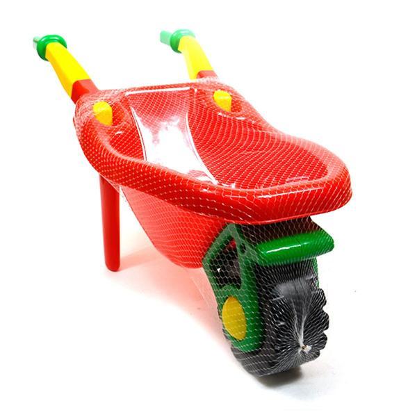 Plastový kolečko pro děti - červená