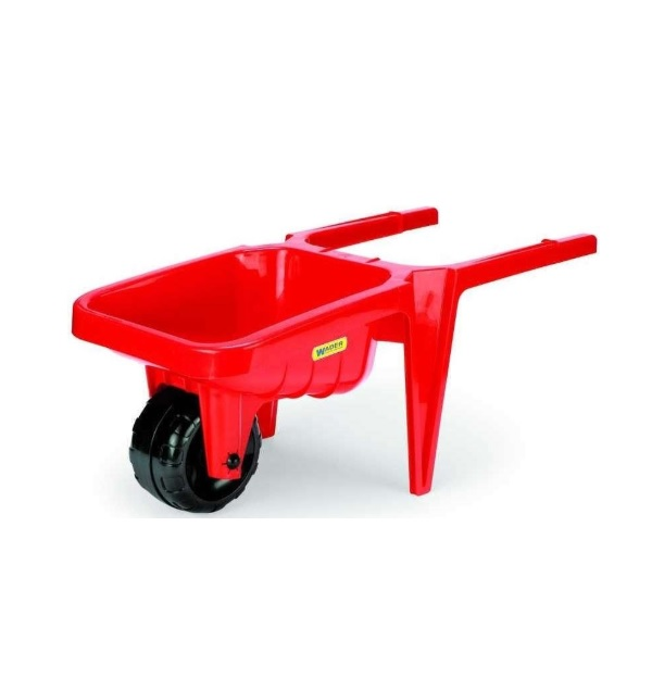 Plastový kolečko pro děti Wader - červená