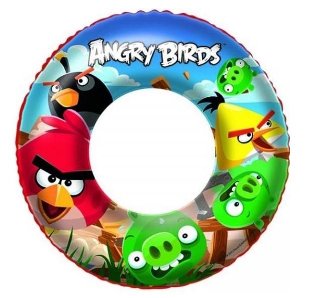 Plavací kolo Angry Birds Bestway 96102