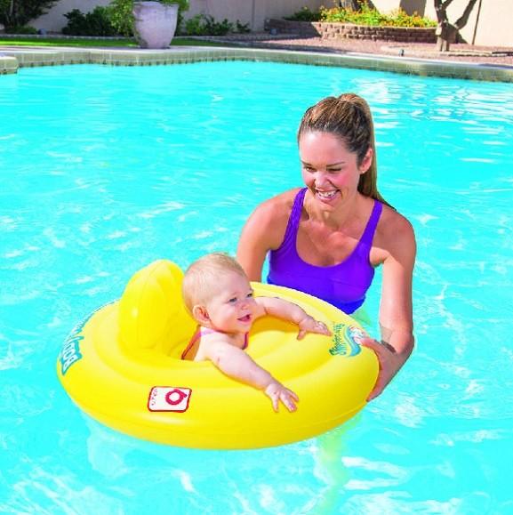 Plavací kruh pro miminka Bestway