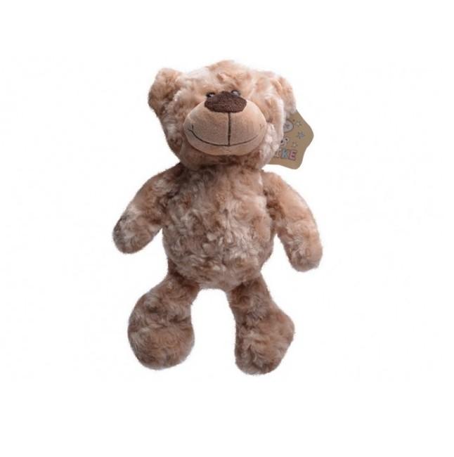 Plyšový medvěd světlehnědý 25 cm