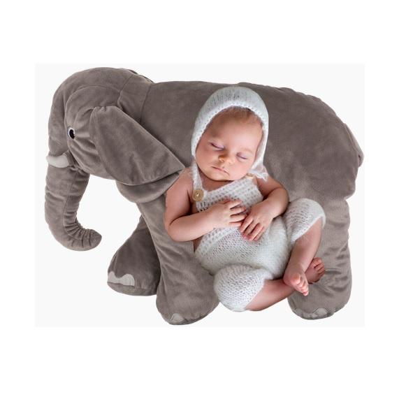 Plyšový polštář slon 53 cm