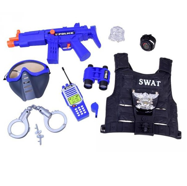 Policejní souprava malého policistu