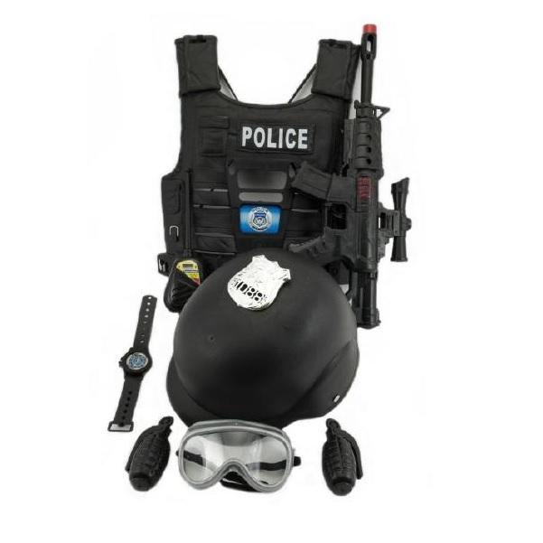 Policejní souprava s vestou