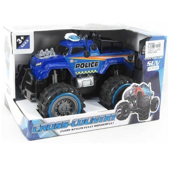 Policejní auto JEEP - bílá