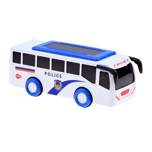 Policejní autobus se světlem a zvukem