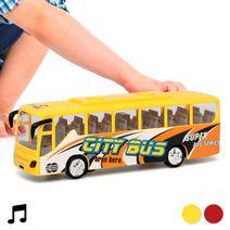 Autobus se světlem a zvukem City