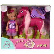 Panenka Evi s koníkem