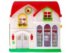 Bílý domeček pro panenky