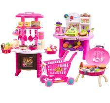 Dětská kuchyňka + obchod + gril