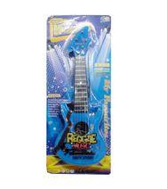 Dětská rocková kytara modrá