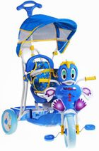Dětská tříkolka kačenka modrá