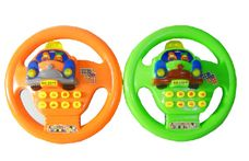 Dětský volant na baterie