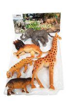 Divoká zvířata - sada 5 ks
