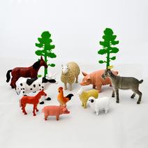 Zvířata na farmě 10 ks
