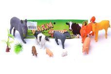 Domácí zvířata na farmě 9 ks