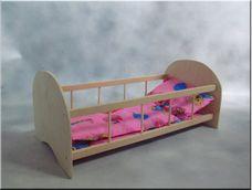 Dřevěná postýlka 50 cm
