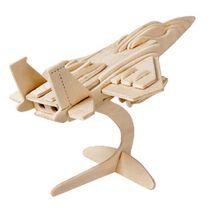 Dřevěné 3D puzzle - letadlo