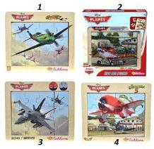 Dřevěné puzzle Planes 12 ks