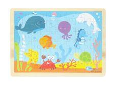 Dřevěné puzzle Podmořský svět