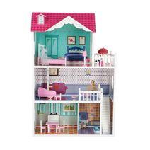 Dřevěný domeček pro panenky Alicja
