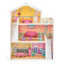 Dřevěný domeček pro panenky Eliza