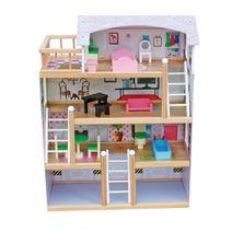 Dřevěný domeček pro panenky Laura