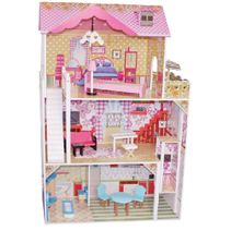 Dřevěný domeček pro panenky Lila