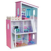 Dřevěný domeček pro panenky Oliwka