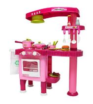 Dvoustranná dětská kuchyňka s příslušenstvím