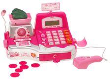 Elektronická pokladna s kalkulačkou a doplňky