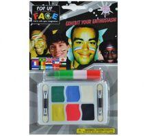 Barvy na malování obličeje