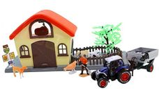 Farma - hospodářství s traktorem