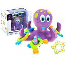 Gumová chobotnice do vaně