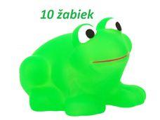 Gumové žáby do vaně