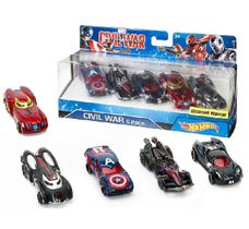 Hot Wheels sada aut Marvel