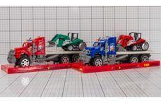 Kamion s pásovým nakladačem