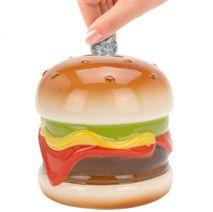 Keramická pokladnička Hamburger