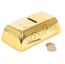 Keramická pokladnička Zlatá cihla