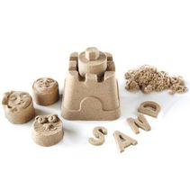 Kinetický písek přírodní 470 g + nářadí na písek