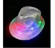 Karnevalový klobouk s LED osvětlením