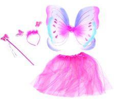 Kostým motýlí víla s křídly