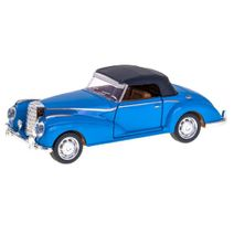 Kovové auto Retro modré